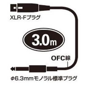オーディオテクニカ キャノン変換ケーブル ATL409A3.0