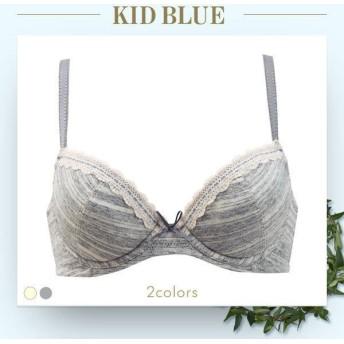 ブラジャー キッドブルー KID BLUE エアリーベア天竺 3/4カップブラジャー
