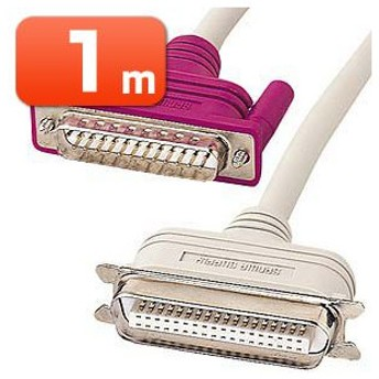 アウトレット プリンタケーブル IEEE1284 D-sub25pinオス-セントロニクス36pinオス 1m アウトレット わけあり 訳ありKP-DV1