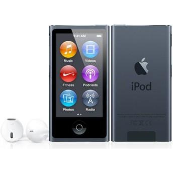 APPLE / アップル iPod nano MD481J/A [16GB スレート] 【デジタルオーディオプレーヤー(DAP)】