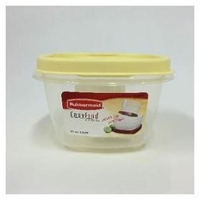 ラバーメイド 食品保存容器 「イージー ファインド リッド」(473ml) FG7J60APYEL イエロー