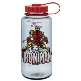 ナルゲン NALGENE 広口1.0リットル Marvel アイアンマン マーベル ボトル 水筒 1L