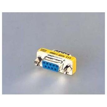 エレコム ディスプレイ 変換 超小型アダプタ D-Sub(9ピン)┃AD-D9MF