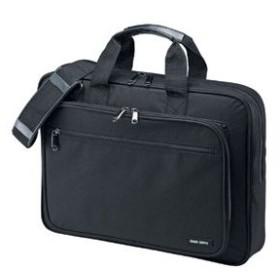 アウトレット パソコンバッグ ビジネスバッグ ローコストモデル 15.4w対応 ブラック アウトレット わけあり 訳ありBAG-U52BK