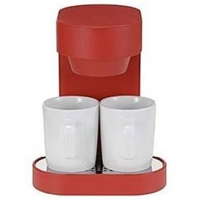 プラマイゼロ コーヒーメーカー XKC‐V110‐R (レッド)