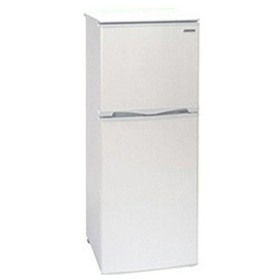 アビテラックス 2ドア冷蔵庫(138L・右開き) AR‐143E‐W (ホワイトストライプ) (標準設置無料)
