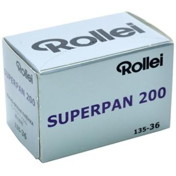 《新品アクセサリー》 Rollei(ローライ) Superpan 200 135-36枚撮り 〔35mm/白黒フィルム〕