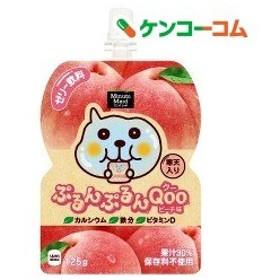 ミニッツメイド ぷるんぷるんクー ピーチ パウチ ( 125g6コ入 )/ クー(Qoo)