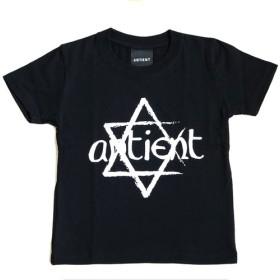 KIDSサイズ/ヘキサグラム Tシャツ/BLACK黒