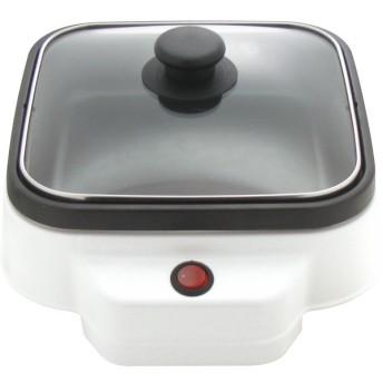 グラート 角型ミニグリル鍋 20 cm グラート 電化製品 電化製品調理機器 テ-ブルグリル GR-20KG 代引不可