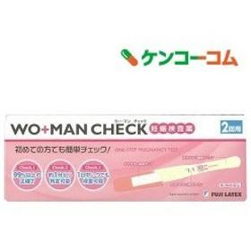 (第2類医薬品)妊娠検査薬 ウー・マン チェック 2回用 ( 1セット )/ WO+MAN(ウーマン)