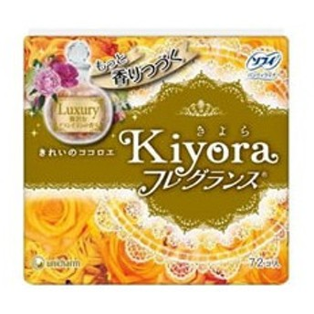 ユニチャーム/ソフィKiyoraフレグランス フローラル&シトラスの香り 72枚
