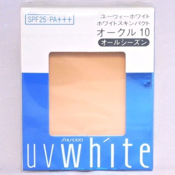 資生堂 UVホワイト ホワイトスキンパクト オークル10 レフィル 12g