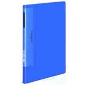 コクヨ/クリヤーブック ウェーブカット固定式A4タテ 20ポケット 青 10冊