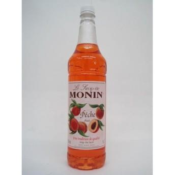 [大容量ペットボトル] モナン ピーチ (ペシェ) シロップ 1000ml