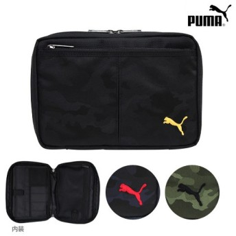 PUMA<プーマ> B6ステーショナリーケース <バッグインバッグ> 3カラー 993pm-ake [M便 1/1]