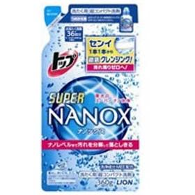 LION/トップ スーパーNANOX(ナノックス) つめかえ用 360g