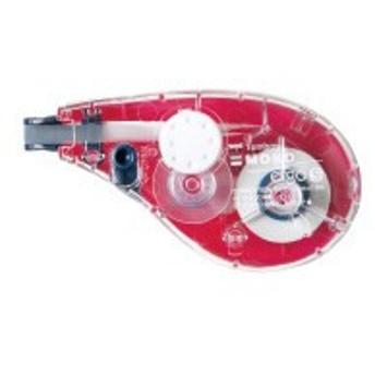 トンボ鉛筆 修正テープモノエルゴ カラー 5mm×10m ピンク CT-YUX5C81