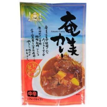 藤井養蜂場 奄美カレー 中辛 フレークタイプ ( 180g )/ フジイのはちみつ