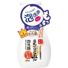 【ポイント最大25%】なめらか本舗  豆乳イソフラボン含有の泡洗顔【正規品】