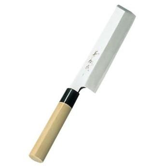 兼松作 日本鋼 薄刃包丁 16.5cm 代引不可
