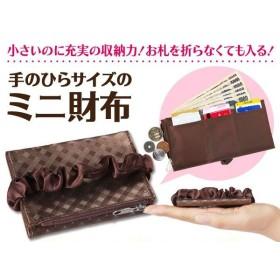 手のひらサイズのミニ財布(代引き不可)