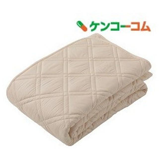 東京西川 ベッドパッド ベージュ セミダブルサイズ CM16002004BE ( 1枚入 )