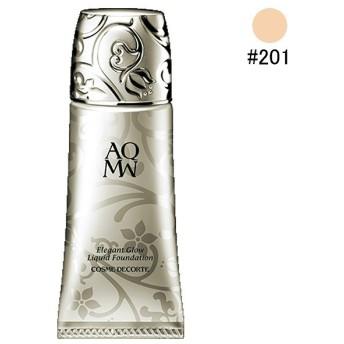 コスメデコルテ COSME DECORTE AQ MW エレガントグロウ リキッドファンデーション #201 30ml 化粧品 コスメ