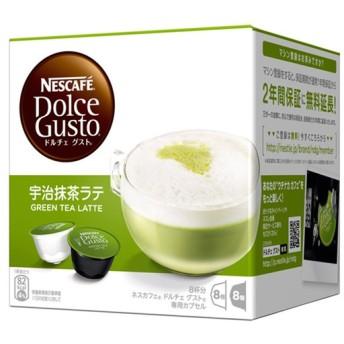 Nestle(ネスレ)ネスカフェ ドルチェ グスト カプセル 宇治抹茶ラテ 8杯分 MLT16001NESCAFE Dolce Gusto
