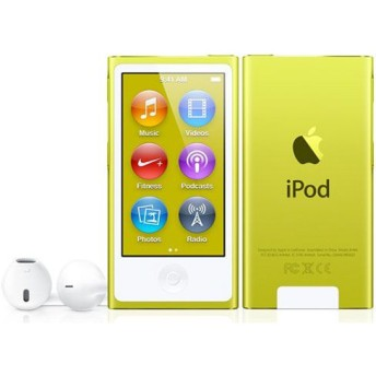 APPLE / アップル iPod nano MD476J/A [16GB イエロー] 【デジタルオーディオプレーヤー(DAP)】