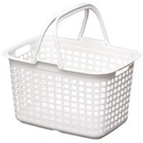 アイリスオーヤマ ランドリーバスケット LB-M ピュアホワイト