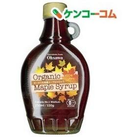 オーサワの有機メープルシロップ(瓶) ( 330g )/ オーサワ