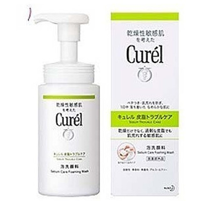 花王 curel(キュレル) 皮脂トラブルケア 泡洗顔料(150ml)