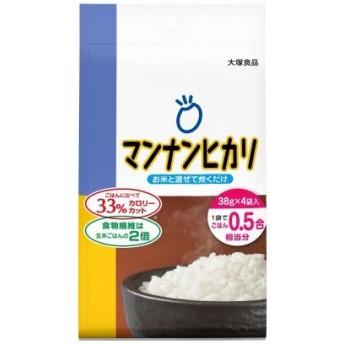 大塚食品 マンナンヒカリ38g×4P 152g まとめ買い(×10)|4901150530828(tc)