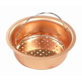 タケコシ タケコシ 純銅製 板 排水口ゴミ受け 皿型 134mm