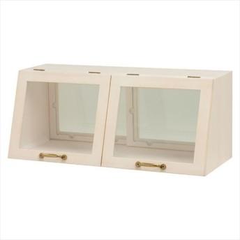 キッチン収納家具 食器ラック 台所収納 キッチン 収納 スパイスラック 収納ラック キッチン 引き戸 食器棚カウンター上置き収納棚 MUD-6067WS 代引不可