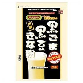 山本漢方製薬 黒ごま黒豆きな粉 200g クロゴマクロマメキナコ 200G