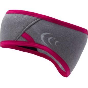 C3fit ユニセックス ウィンター ランニング イヤーウォーマー グレー×ピンク フリーサイズ