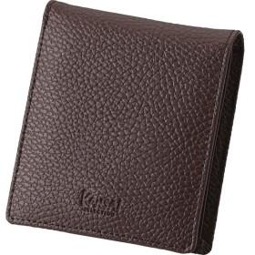 カンサイセレクション メンズ二つ折財布 ブラウン 装身具 財布 札入れ S-KSE30044BRN 代引不可