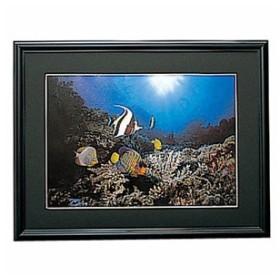 エツミ アルミ写真額 (A4/ブラック) E‐8011