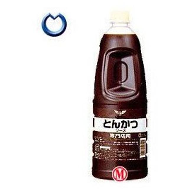 【送料無料】【2ケースセット】ハグルマ 専門店用 とんかつソース 1.8Lペットボトル×6本入×(2ケース)