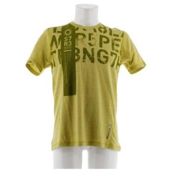 リーボック(REEBOK) ワンシリーズ トリブレンド グラフィック ショートスリーブ Tシャツ AA8250-BQ456YGRN (Men's)