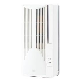 【新品・在庫あり】■KOIZUMI(コイズミ) KAW-1662 窓用エアコン 【高さ75cmのコンパクト設計/リモコン付】 KAW-1662/W