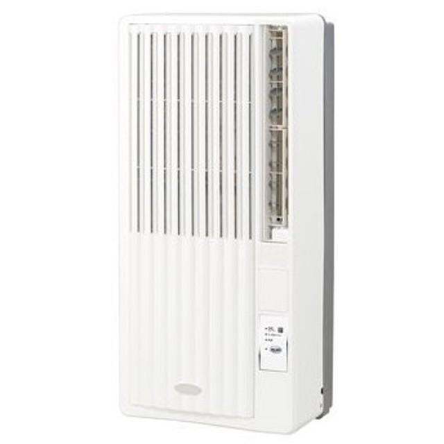 【新品・在庫あり】■KOIZUMI KAW-1952 コイズミ 冷房専用 窓用エアコン おもに4.5〜7畳用【高さ75cmのコンパクト設計】窓用エアコン KAW-1952/W