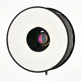 カメラアクセサリー RoundFlash ラウンドフラッシュ Ring クリップオンストロボ向けソフトボックス ネコポス不可