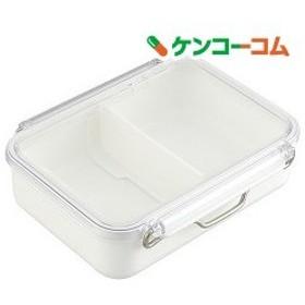 衝撃に強いお弁当箱 食洗機対応 パワーラインキーパー460mL ホワイト ( 1コ入 )