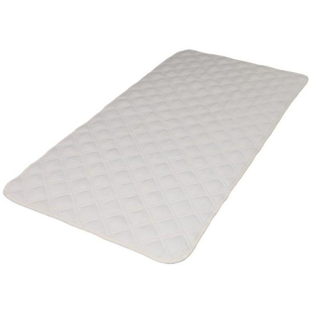 敷きパッド ファミリー 敷パッド 西川 抗菌防臭 敷き ベッドパッド 清潔 洗える 洗濯 丸洗い アイボリー SN2020BET (D)