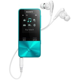 (納期目安3週間〜)SONY NW-S313-L ブルー 4GB ソニー ウォークマン イヤホン付属 Bluetooth対応  NWS313L