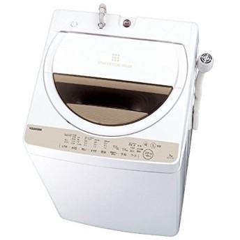 【新品・在庫有】■東芝 全自動洗濯機 7kg AW-7G5 ステンレス槽 風呂水ポンプ付 グランホワイト AW-7G5(W)