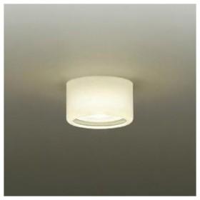 DAIKO LED小型シーリングライト ランプ付 白熱灯60W相当 非調光タイプ ユニットフラット形 6.7W 広角形 口金E17 電球色タイプ DCL-37663